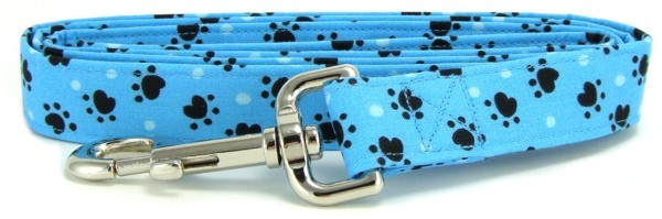 Aqua Heart Paws Dog Leash