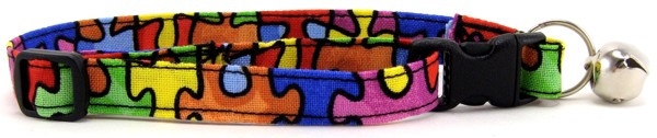 Autism Awareness Cat Collars