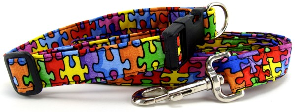 Autism Awareness Dog & Cat Collars & Leashes