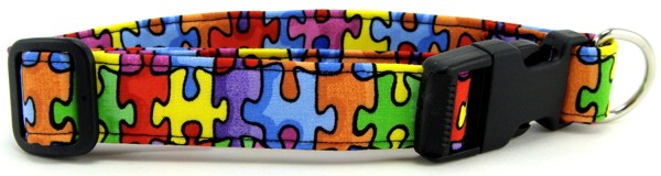 Autism Awareness Dog Collars