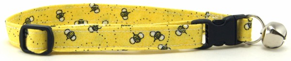 Bees Cat Collar