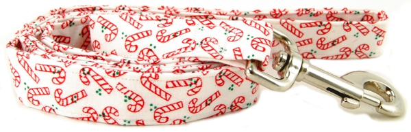 Candy Canes Dog Leash