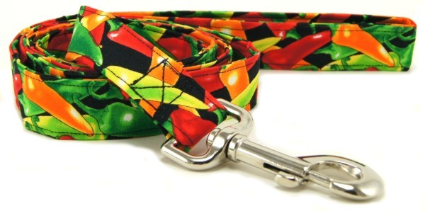 Chili Peppers Dog Leash