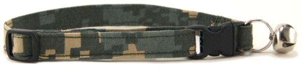 Digital Camo Cat Collar