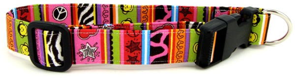 Funky Monkey Dog Collar