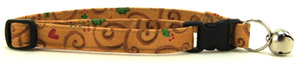 Ginger Delights Cat Collar