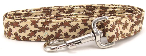 Gingerbread Men Dog Leash