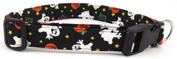 Happy Ghosts Dog Collar