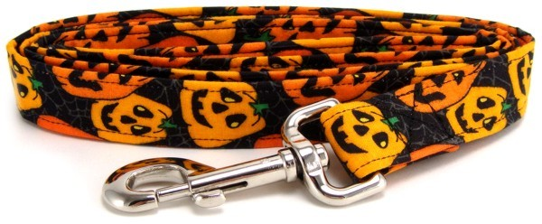 Happy Pumpkins Dog Leash