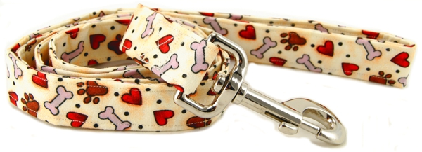 Hearts, Bones & Paws Dog Leash