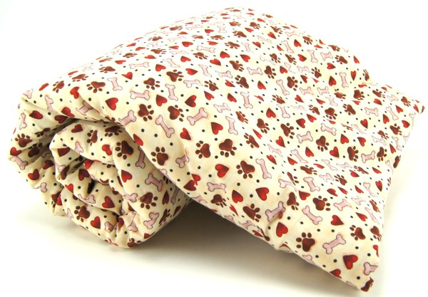 Hearts, Bones & Paws Pet Blanket
