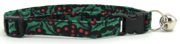 Holly Berries Cat Collar