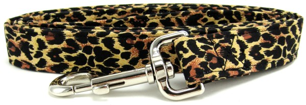 Leopard Spots Dog Leash