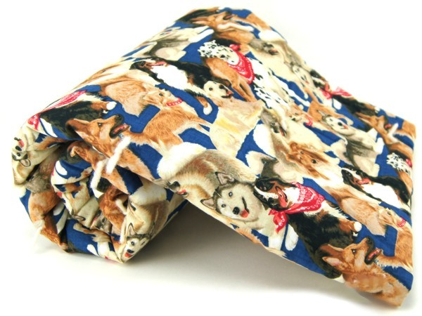 Bandana Dog Pet Blanket