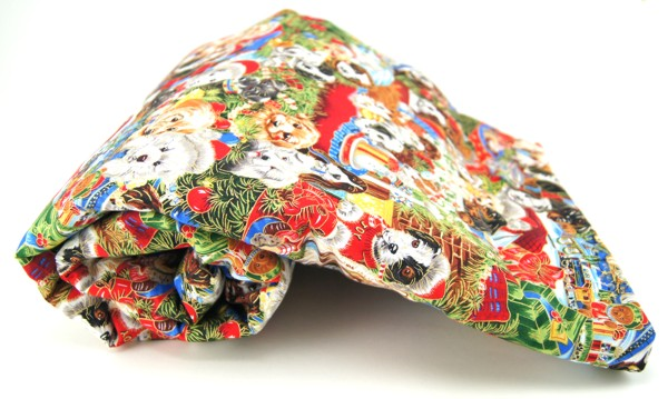 Christmas Puppies Dog Blanket