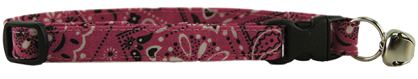Pink Bandana Cat Collar