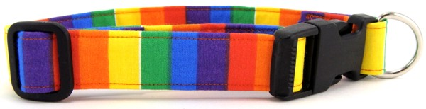 Rainbow Pride Dog Collar
