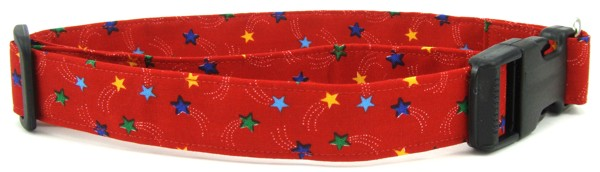 Rainbow Stars Dog Collar