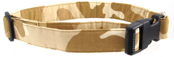 Tan Camo Dog Collar