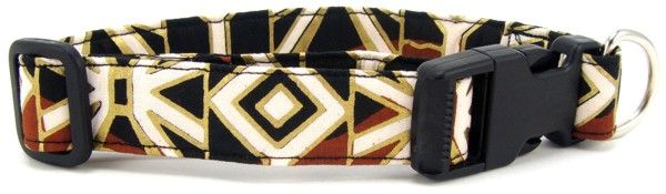 African Tribal Print Dog Collar