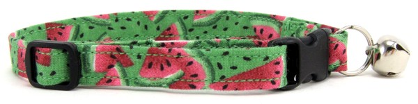 Watermelon Cat Collar
