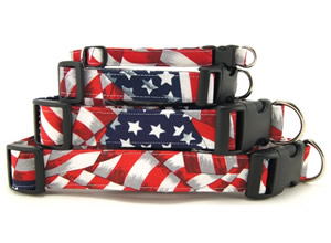 Patriotic Dog Collars