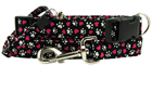Magenta Hearts & Paws Collars
