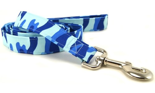 Patriotic flags and stars, camouflage and bandana dog leashes