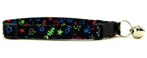 Paw and Animal Print Cat Collars