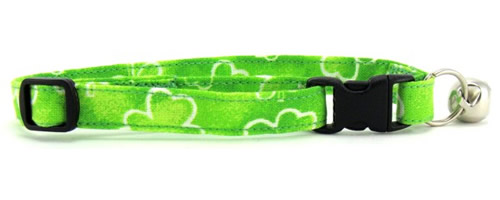 St. Patrick's Day Cat Collars